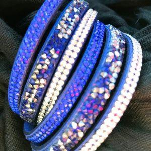 Jewelry - Swarovski Slake Wrap Bracelet / Choker